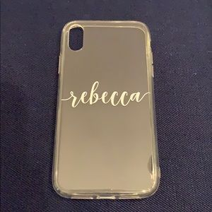 Accessories - Personalized Clear iPhone XR Case